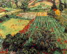 Field with Poppies - Vincent van Gogh reproduction oil painting