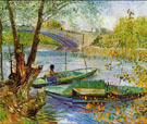 Fishing in the Spring - Vincent van Gogh