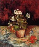 Geranium in A Flowerpot - Vincent van Gogh