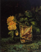 Glass with Roses - Vincent van Gogh