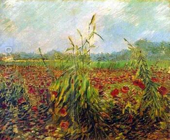 Green Ears of Wheat - Vincent van Gogh reproduction oil painting