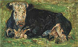 Lying Cow - Vincent van Gogh