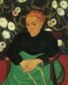 Madame Roulin Rocking the Cradle - Vincent van Gogh