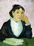 Portrait of Madame Ginoux February 1890 - Vincent van Gogh