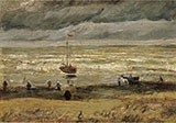 Seashore at Scheveningen - Vincent van Gogh