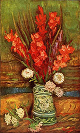 Still Life with Red Gladioli - Vincent van Gogh