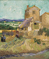 The Old Mill 1888 - Vincent van Gogh