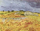The Plain at Auvers - Vincent van Gogh