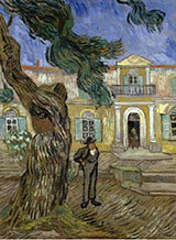 Tree and Man St Remy - Vincent van Gogh