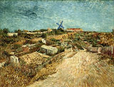Vegetable Gardens in Montmartre - Vincent van Gogh