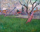 View of Arles with Trees in Blossom - Vincent van Gogh