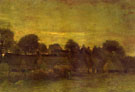 Village at Sunset - Vincent van Gogh