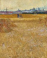 Les Moissonneurs 1888 - Vincent van Gogh