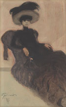 Woman in a Hat 1907 - Leon Spilliaert