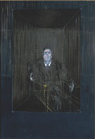 Study for  Portrait - Blue - Francis Bacon