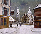 Church of St Peter Montmartre 1931 - Maurice Utrillo