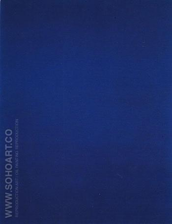 IKB 3 1960 - Yves Klein reproduction oil painting