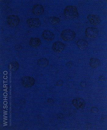 RE 20 Requiem 1960 - Yves Klein reproduction oil painting