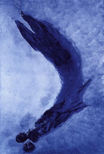 Anthropomorphie Sans Titre ANT 127 - Yves Klein reproduction oil painting