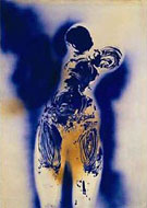 Anthropometry Untitled 98 - Yves Klein