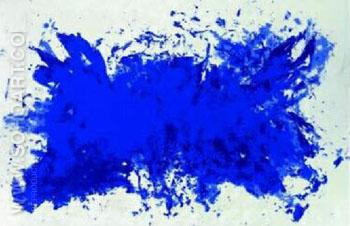 Homage a Tennessee - Yves Klein reproduction oil painting