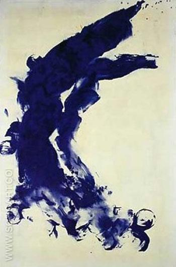 Anthropometry 1960 B - Yves Klein reproduction oil painting