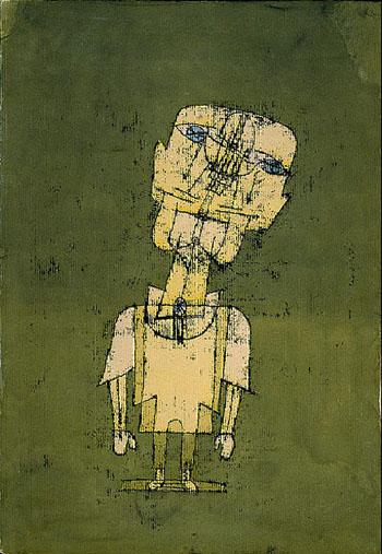 Ghost of Genius 1922 - Paul Klee reproduction oil painting