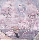 Scene at the Water Scene Am Wasser 1922 - Paul Klee