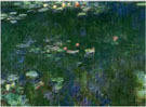 Green Reflections 2 - Claude Monet reproduction oil painting