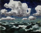 Summer Clouds 1913 - Emile Nolde reproduction oil painting