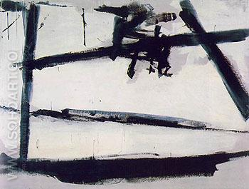 Painting No 2 1954 - Franz Kline reproduction oil painting