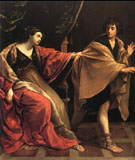 Giuseppe E Moglie Di Putifarre 1631 - Guido Reni reproduction oil painting