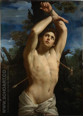 San Sebastiano - Guido Reni reproduction oil painting
