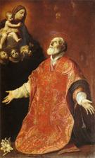 St Filippo Neri in Ecstasy 1614 - Guido Reni