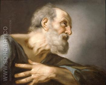 St Peter - Guido Reni reproduction oil painting