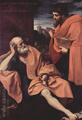 St Peter and St Paul 1605 - Guido Reni reproduction oil painting