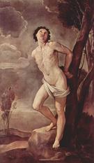 St Sebastian 1642 - Guido Reni