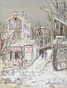 Cabaret Le Lapin Agile 1938 - Maurice Utrillo