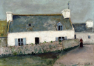 Farm on Llle dOuessant 1910 - Maurice Utrillo