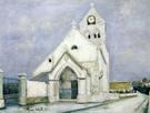 La Petite Communiante Eglise De Deuil 1912 - Maurice Utrillo