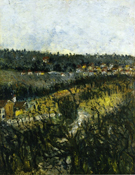 Near Montmagny 1908 - Maurice Utrillo