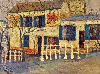 The Lapin Agile 1912 - Maurice Utrillo reproduction oil painting