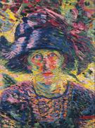 Ritratto Femminile 1911 - Umberto Boccioni