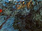 Those Who Go 1911 - Umberto Boccioni reproduction oil painting