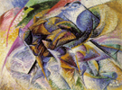Dynamism of a Cyclist 1903 - Umberto Boccioni reproduction oil painting