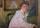 Ritratto Della Sorella 1904 - Umberto Boccioni reproduction oil painting