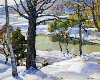 Loan Oak - George Gardner Symons reproduction oil painting