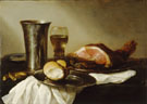 Breakfast Piece - Pieter Claesz