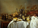 Still Life on a Table - Pieter Claesz