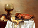 Still Life with Crab - Pieter Claesz reproduction oil painting